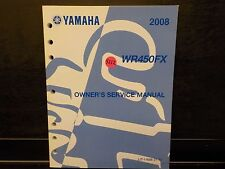 YAMAHA 2008 WR450FX    OWNERS SERVICE MANUAL (Y212)