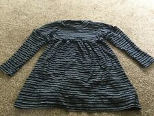 next 2-3 year old dress blue and grey stripes
