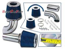 BCP BLUE 88-95 Ford F150 5.0L 5.8L Non-MAF V8 Ram Air Intake Kit+ Filter