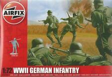 AIRFIX 1:72 WWII FANTERIA TEDESCA GERMAN INFANTRY 48 SOLDATINI ART 01705 SERIE 1