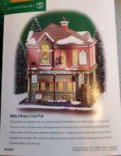 Christmas In The City Department 56 Molly O'Briens Irish Pub