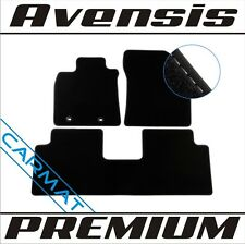 Toyota avensis III 3 t27 BJ. 2009-premium paillassons voiture tapis