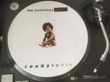 """12""""  VINYL RECORD FELT SLIPMAT  NOTORIOUS BIG  READY TO DIE  RAP HIP HOP"""