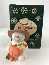 "Limited Edition ""November� Snowonders By Sarah's Attic #28/2264 Original Box"