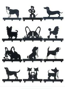 Dog Lead/Leash,Key,Coat,Towel, Door Hanger,Holder,Rack, Hook- 30 DESIGNS METAL