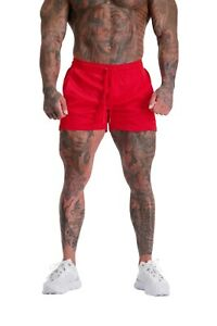 ADONIS.GEAR- ENVY, RED/RED, SHORTS, BODYBUILDING, GYM, TRAINING, RUNNING, MENS