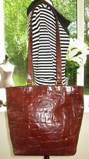 AUTHENTIC VINTAGE MULBERRY BROWN CONGO LEATHER HELLIER SHOULDER BAG