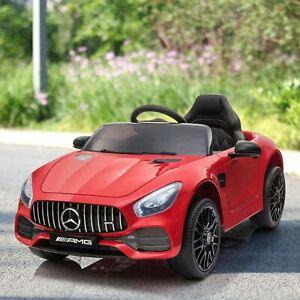 Nyeekoy Licensed Mercedes-AMG GT 12V Electric Kids Ride On Car Vehicle w/Remote
