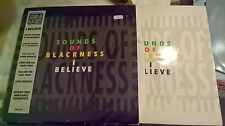 """SOUND OF BLACKNESS I BELIEVE SPECIAL EDITION 12"""" DOUBLEPACK  COVER EX VINYL EX+"""