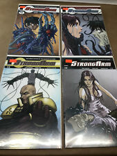 StrongArm 1-4 Run lot series - image comics - ultimate weapon issues 1 2 3 4 set