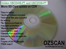 Uniden UBCD436PT UBCD536PT Update your SD Card CDR - Tas EDACS and Emrgcy Srvcs