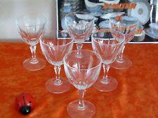 6 Gläser Für Wein- Rot Kristall- D'Arques Des Modell Bergerac