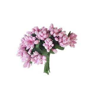 12pcs/bunch Safe Premium Non-toxic Mini Artificial Pip Berry Picks Flower