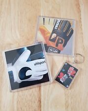 Uhlsport / Reusch 1986 coasters + free keyring. Price per pair. Free postage