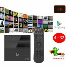 Android 9.0 PIE Smart TV Box Media TV Player USB HDMI WiFi HDR 4K F2 32GB