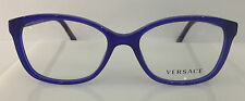 Versace Mod. 3147-M Color 936 Royal Blue Plastic Eyeglasses Frame 51-16-135 NEW