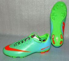 Nike JR Mercurial Victory 4 FG Kinder Fußball Schuhe 37,5 UK4,5 Neon Grün Blau S