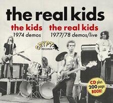 THE REAL KIDS - THE REAL KIDS 1977/78 DEMOS/LIVE   CD NEUF