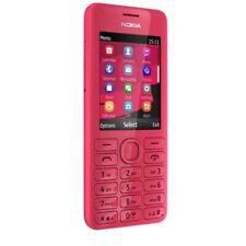 Unlocked Original Nokia 206 2060 Dual SIM MP3 1.3MP 2.4'' Bluetooth Red  Phone