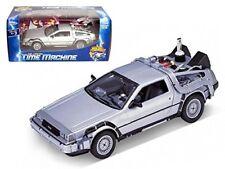 Welly Volver al Futuro Máquina del tiempo DeLorean DMC parte 2 1:24 Die Cast Metal