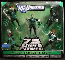 "2010 MATTEL DC UNIVERSE CLASSICS GREEN LANTERN'S LIGHT 5-PACK 6"" FIGURES MIB"