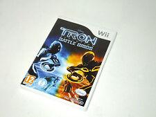 TRON EVOLUTION : BATTLE GRIDS complete in box game nintendo Wii
