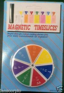 MAGNETIC TIMESLICES DAILY REMINDERS (SUN-SAT)  ***NEW***