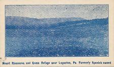 Loganton PA * Mt. Riansares & Game Refuge ca. 1910 * Clinton Co.