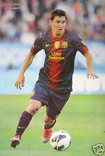 "FC BARCELONA ""LIONEL MESSI FOOT NEAR BALL"" POSTER - Soccer, UEFA League Football"