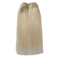 "1PC 16""-20"" 100% Remy Human Hidden Hair Extension Halo Invisible Wire 100g New"