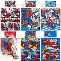 Official Marvel Spiderman Licensed Duvet Covers Single/Double Far From Home