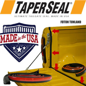FOTON TUNLAND RUBBER UTE DUST TAIL GATE TAILGATE SEAL KIT MADE IN USA