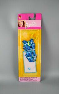Barbie - Sea & Sun Fashions Beach Clothes Pack - Blue Swimsuit - Mattel 2000