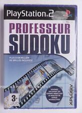 NEUF - jeu PROFESSEUR SUDOKU playstation 2 sony PS2 en francais spiel juego NEW