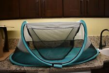 KidCo PeaPod Travel Bed for Kids -Sky/Gray Color