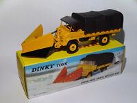 Chasse-neige Unimog Mercedes-benz réf 567 au 1/50 de dinky toys atlas