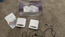 ASUS ZenWiFi XT8 Tri-Band Mesh Wi-Fi 6 System - White (Set of 2)