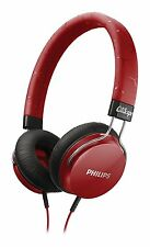 Philips SHL5300RD/00 Fixie Bass Rich Headphones Red