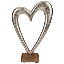 Dekoherz Metall Metallherz Deko Design Herz Valentinstag Muttertag Geschenk Gr M