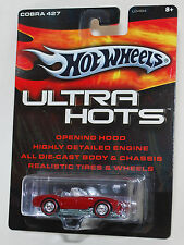 Hot Wheels ULTRA HOTS COBRA 427 RED REAL RIDERS 1:64