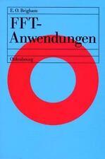 Fft-Anwendungen by Elbert Oran Brigham (2010, Paperback)