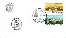 San Marino 1989 FDC AASFN World Stamp Expo '89