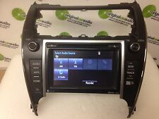 2013 2014 Toyota Camry Touch Screen Nav SAT JBL HD Radio CD Player