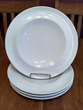 Four NWT Arcoroc Professional Vintage White Rimmed Dinner Plates