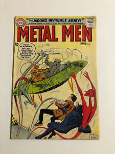 Metal Men #3 ,7 and 18. (1963, DC)