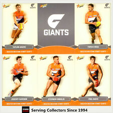 2013 Select AFL Champions Trading Cards Base Team Set GWS(12)