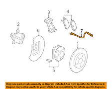 GM OEM Rear Brake-Hydraulic Flex Hose 15238612