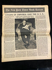 THE NEW YORK TIMES BOOK REVIEW, AUGUST 10, 1947, CITIZEN OF EMPORIA--AND THE USA