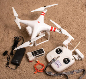 DJI PHANTOM 2 VISION DRONE noResv