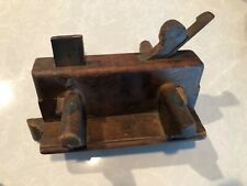 Antique Plow Molding Plane w/ Cutting Iron woodworking tool Moss
